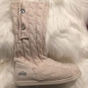 Juicy Couture knit boots